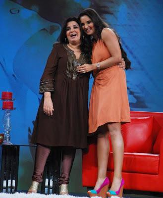 saniya mirza at ndtv tv program hot photoshoot