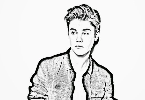 Activity Handsome Men Justin Bieber Coloring Pages New Coloring Justin Bieber Coloring Pages