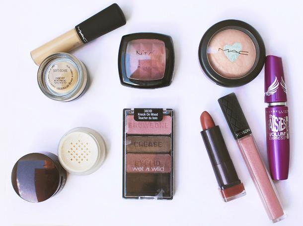 mauve makeup look blog wet n wild knock on wood the beauty milk