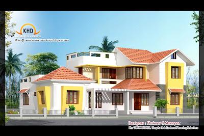 Villa Plan and Elevation - May 2011