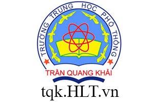 Địa lý THPT Trần Quang Khải
