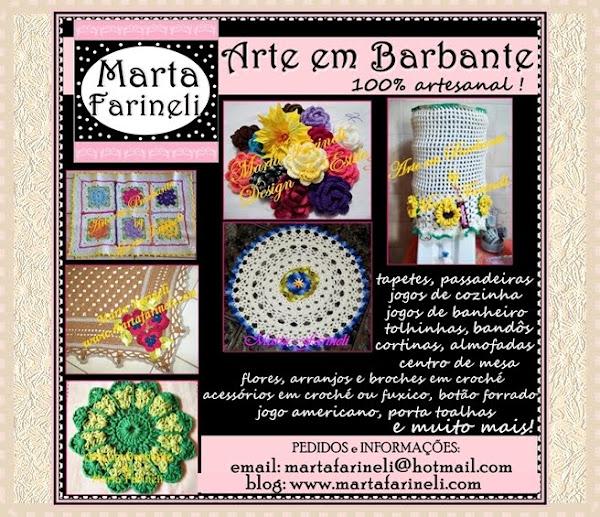 """Marta Farineli - Arte em Barbante"""