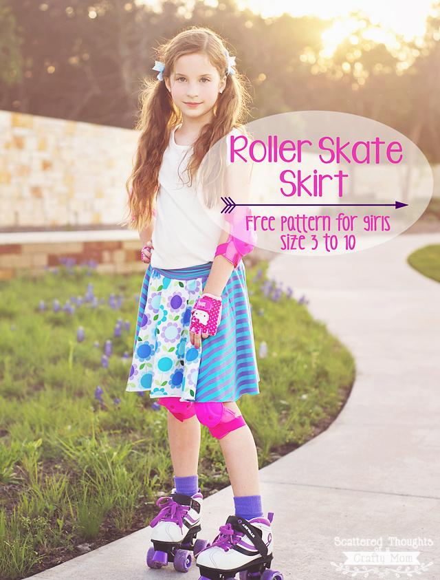 Free circle skirt pattern for girls