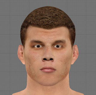 NBA 2K13 PC Mods Blake Griffin Cyber Face