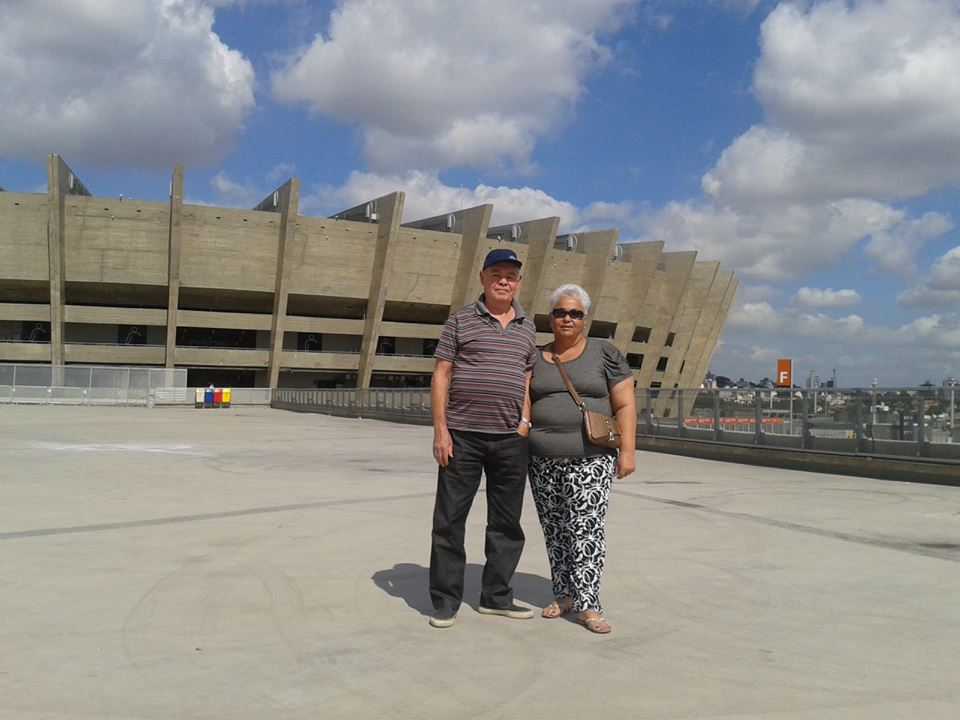 EU E MEU MARIDO... casados há 46 anos....