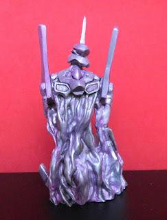 orme magiche eva 01 neon genesis evangelion modellini statuette scultura sculture action figure personalizzate fatta a mano stampo in resina super sculpey milliput