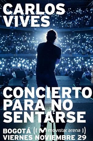 """El 29 de noviembre en el Movistar Arena, Carlos Vives regresa con la gira """"Campaña LIbertadora"""""""