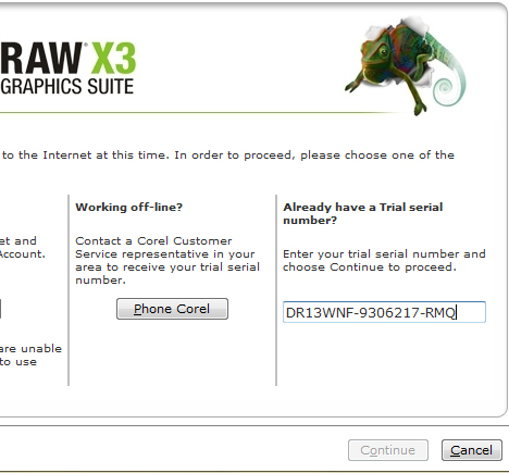 coreldraw graphics x3 serial number