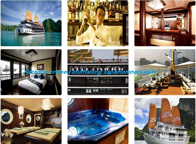 du thuyền hạ long paradise | paradise cruise