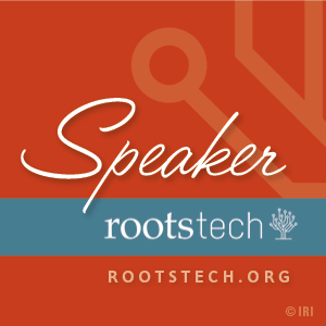 I'm Speaking at RootsTech 2016!