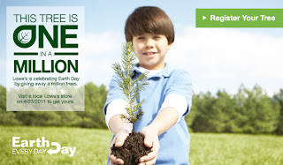 Coupon Deals Coupon Codes Printable Coupons Discounts free+tree+Earth Day 2013++1 01 FREE Days   Ben and Jerrys FREE Ice Cream Cone,Lowes FREE Tree