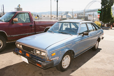 1980 Datsun 510 5-door Liftback.