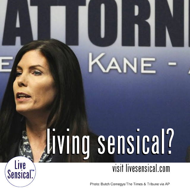 Attorney General Kathleen Kane (livesensical.com?) has been criminally charged with perjury, official oppression and obstruction of justice. Kane's charges are centered around claims she leaked secret grand jury report and lied about it in order to damage a political rival. Kane says resigning would be an admission of guilt.