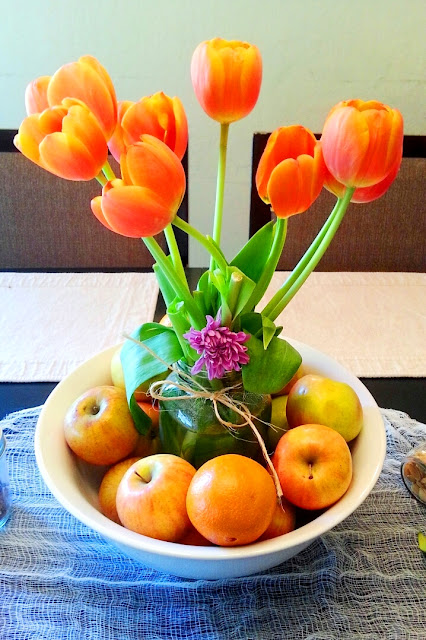 mother's day, tulips, table decor, HAPPY MOTHER'S DAY,
