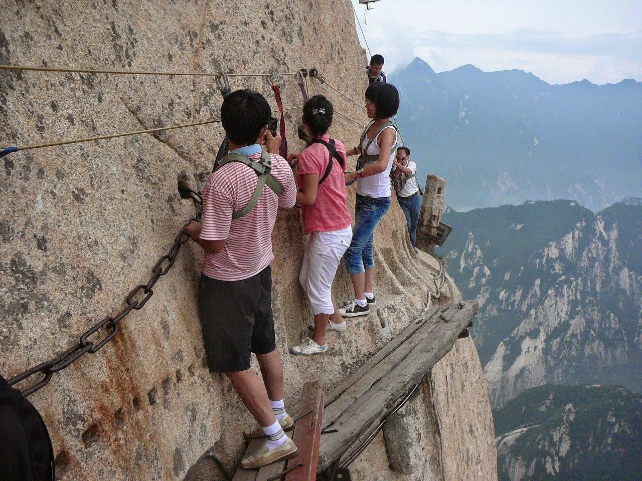 Mount Hua West peak. China: