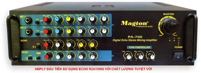 AMPLY ĐẦU TIÊN SỬ DỤNG ECHO R2A15906