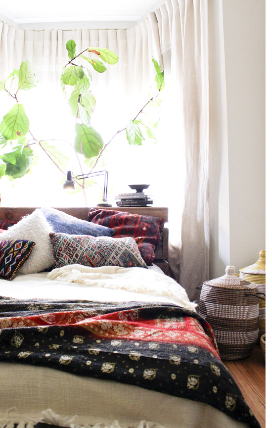 moon to moon one room bright relaxing bohemian bedroom