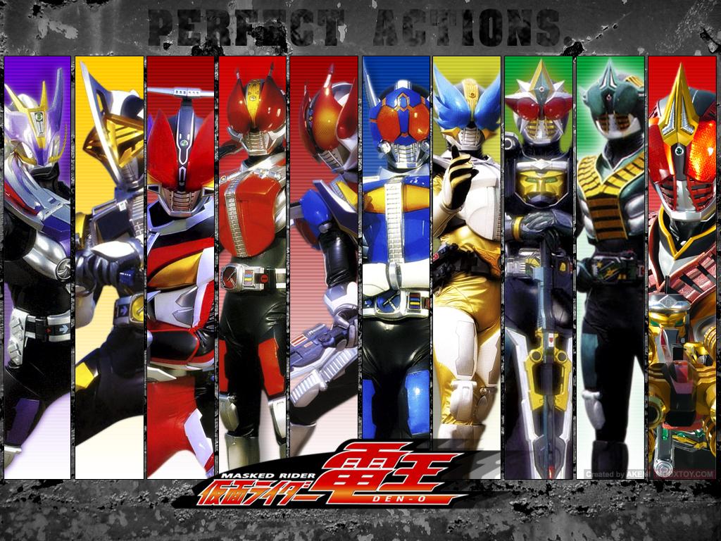 Kamen Rider Den O Es La Serie De Preparada El