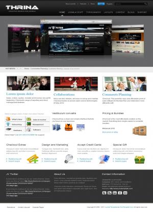 Share template JV Thrina - Joomla 1.5