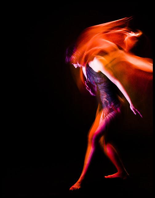 Kreatywna fotografia tańca współczesnego. fot. Łukasz Cyrus, Ruda Śląska.