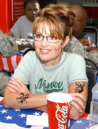 Sarah Palin Tattoo
