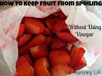 how to keep fruit from spoiling without using vinegar