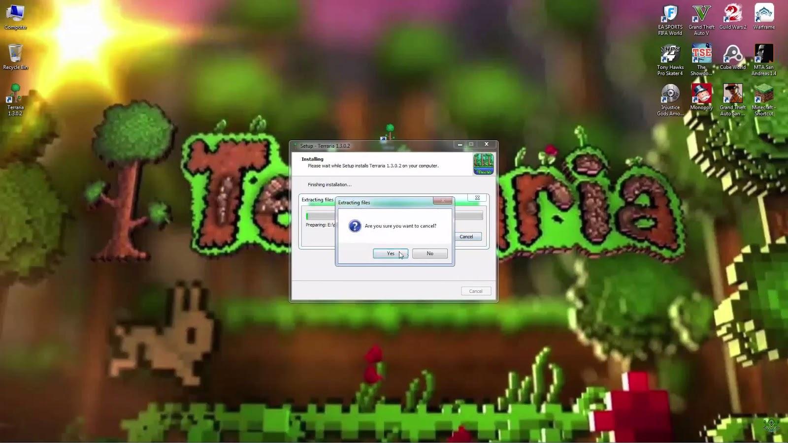 Terraria 1.3.0.2 descargar Gratis por mega mediafire