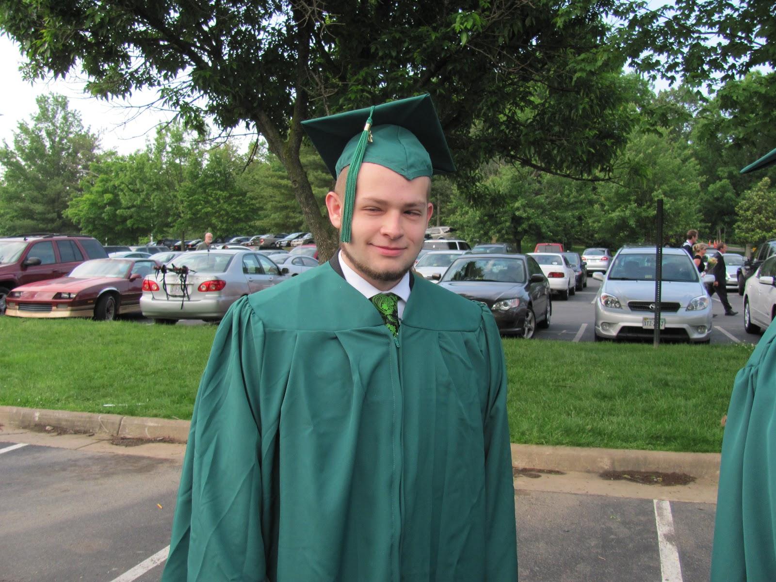Laserlight: Josh\'s graduation