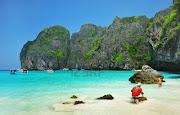 Phi Phi Island, Thailand (maya bay of phi phi island krabi thailand)
