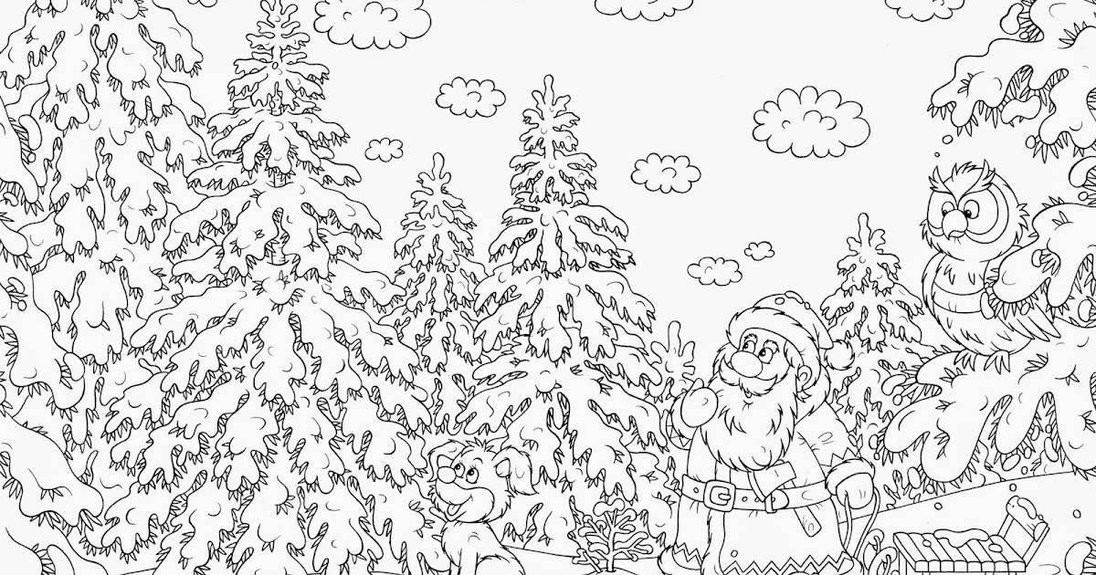 Printable Christmas Coloring Pages For Middle School.  XMAS COLORING PAGES