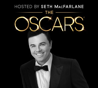 85th Oscars (2013) Airs Live on Velvet; Seth MacFarlane Appointed as Host