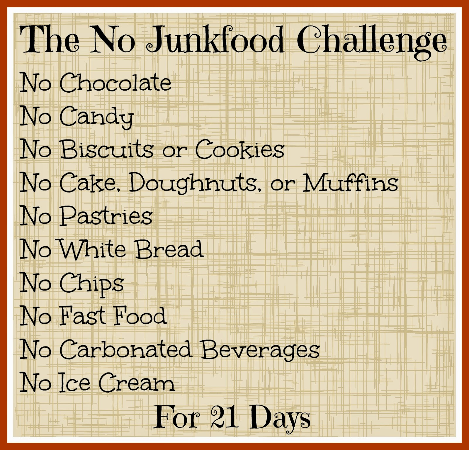 Weight Loss Tips For Teens: How To Be Awesome At Everything: The No Junk Food Challenge