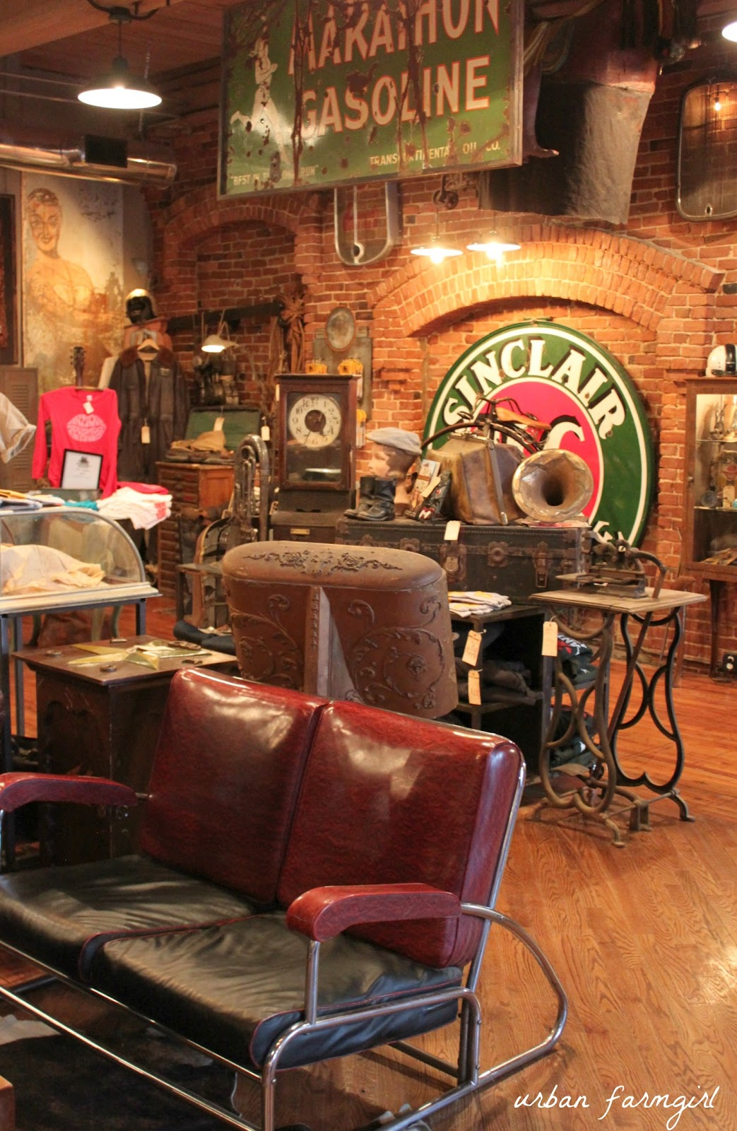 Urban farmgirl american pickers nashville style for Antique stores in nashville