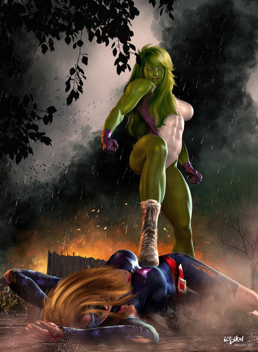 She HULK - YOU ARE NO MATCH FOR ME! por isikol