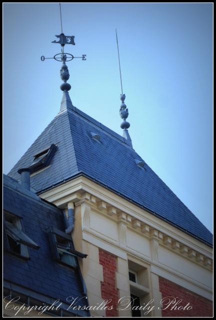 Weathervane girouette Versailles