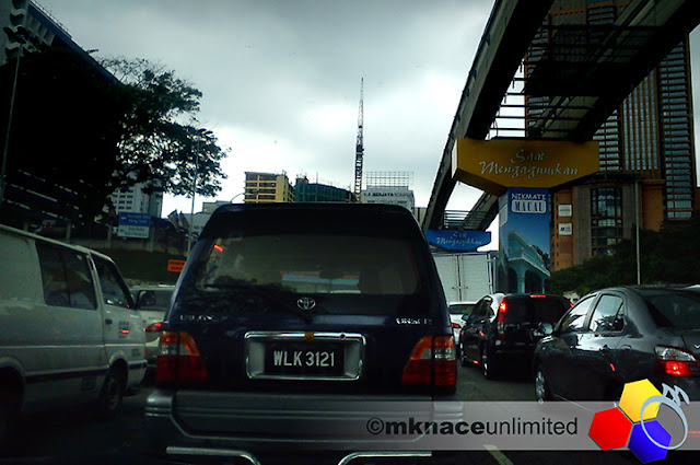 mknace unlimited™ | suasana rutin jalanraya utama kuala lumpur