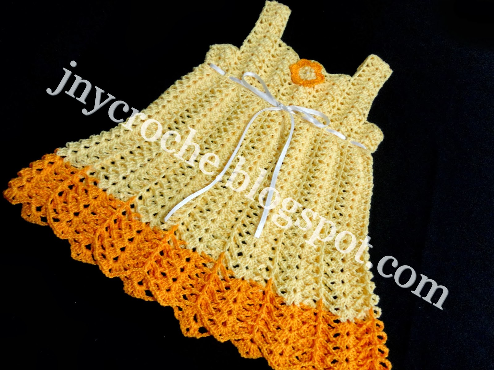 Vestido de croche bebe car interior design