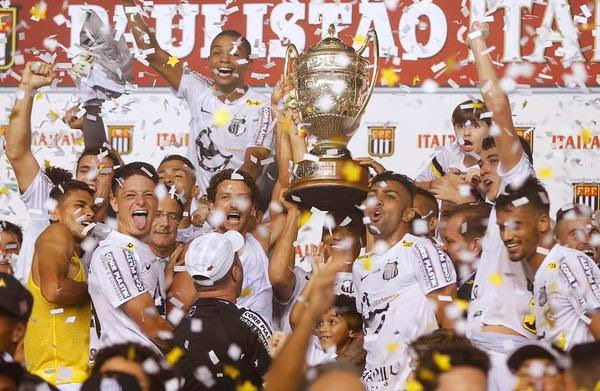 De desacreditado ao 21º título, Santos é Campeão Paulista