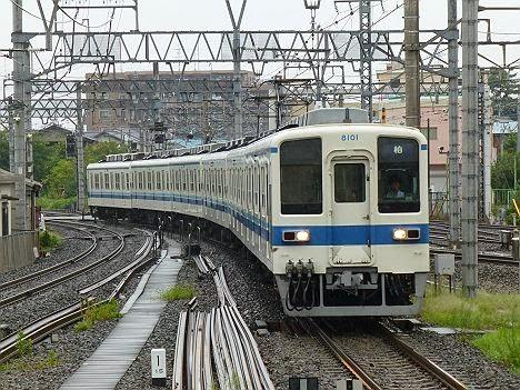 東武野田線 柏行き 8000系8101F
