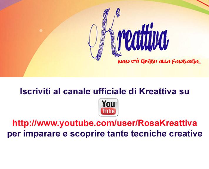 channel rosakreattiva si parte con questa nuova avventura !!!