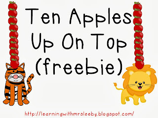 A Class Y Collaboration Ten Apples Up On Top Freebie