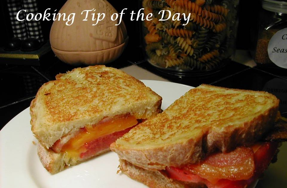 Cooking Tip of the Day: Recipe: Grilled Bacon Tomato and ...