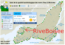 Rive Boisée: For more than 40 years, one of the most polluted sites on the Island.