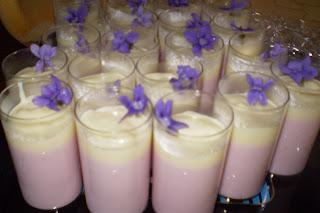 Mousse de fraises au fromage blanc