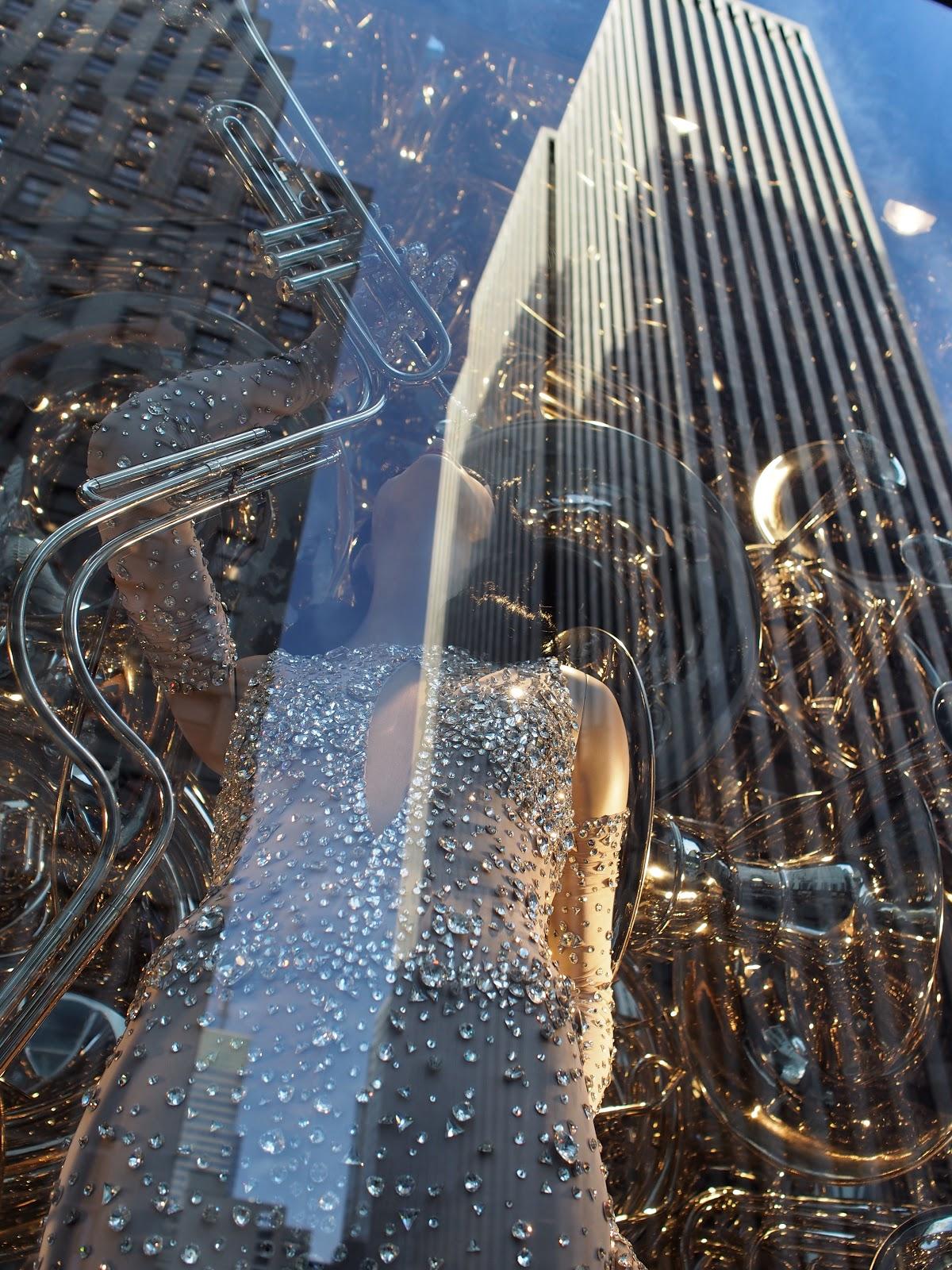 inspired by Music (Day) #inspiredbymusic(day) #bgwindows #windowwatchers #holidaywindows #5thavenuewindows #NYC  #holidays #besttimeoftheyear #nyc ©2014 Nancy Lundebjerg