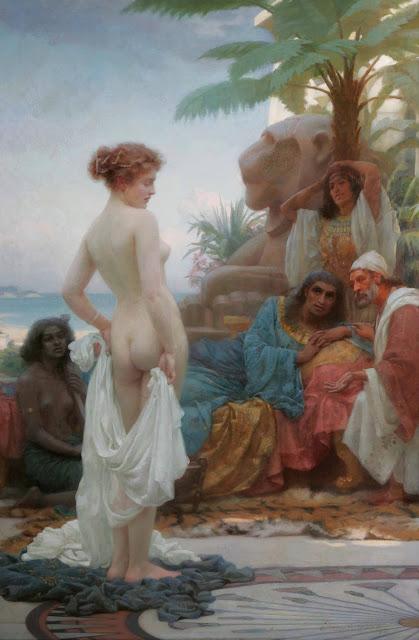 slave,ernest normand,art history