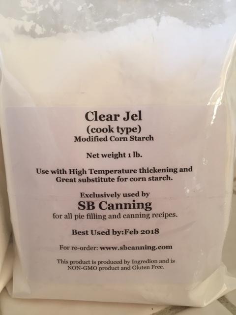 Clear Jel - Non-GMO/Gluten Free