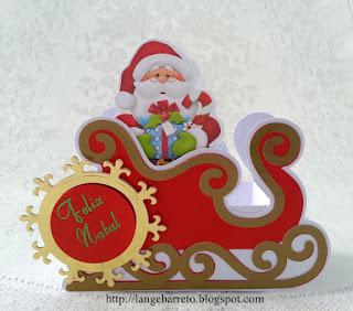 Trenó Papai Noel