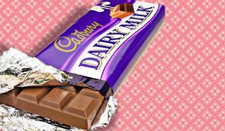 انواع الشوكولاته باللبن
