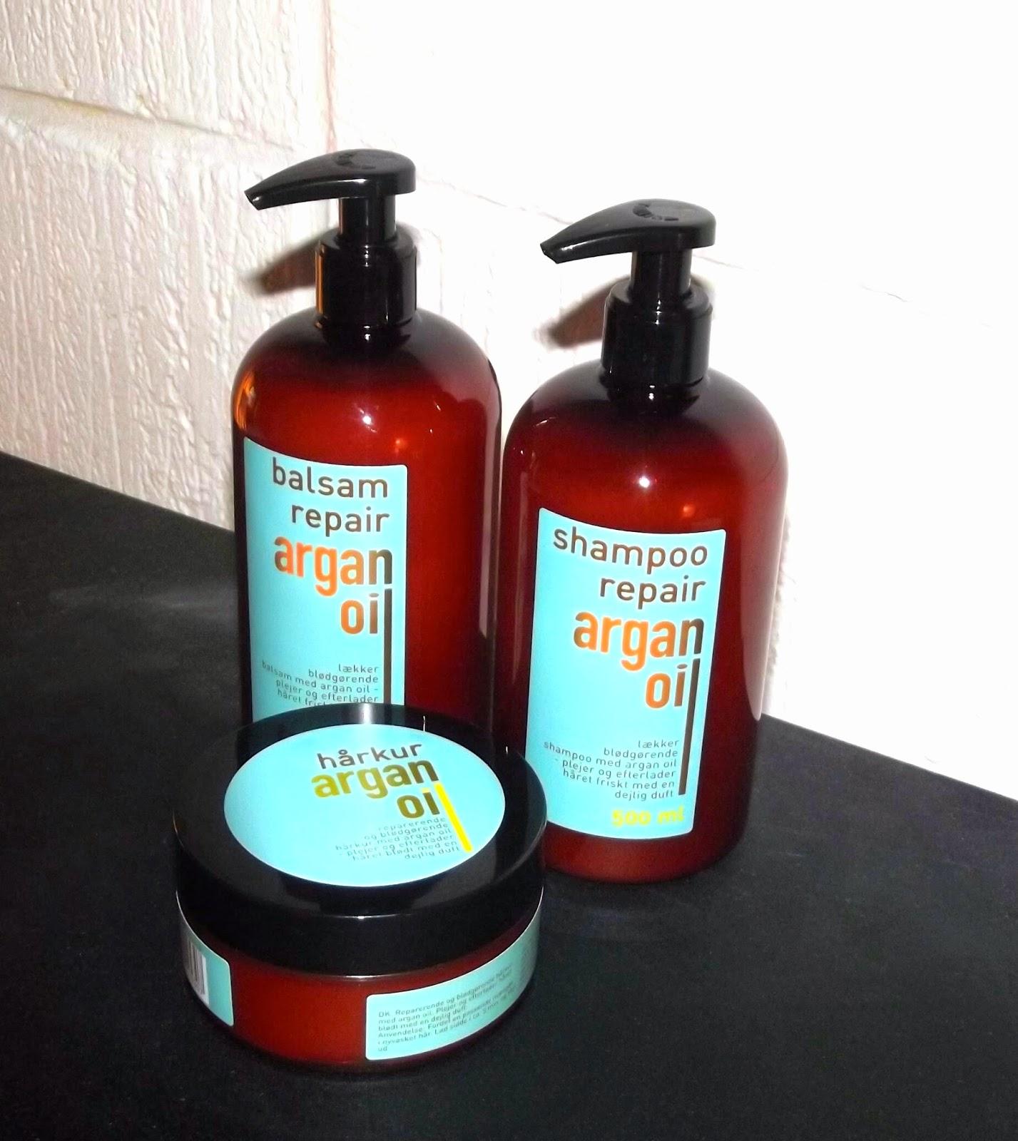 argan olie hårkur